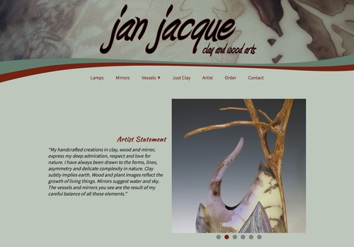 Jan Jacque - Clay and Wood Arts